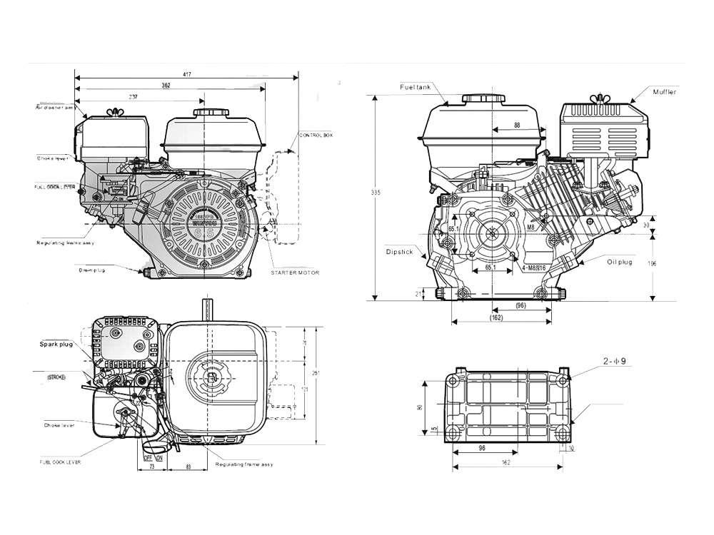 Инструкция по эксплуатации двигателя хонда